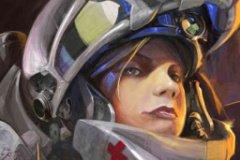 Медик из космической игры StarCraft