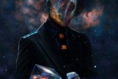 Аватарка космос человек