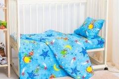 Детская кроватка космос