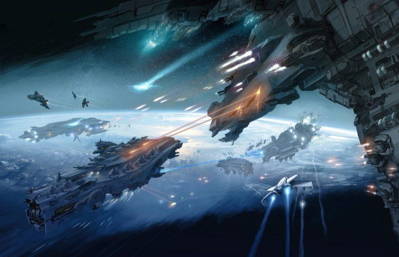 Флот в атаке