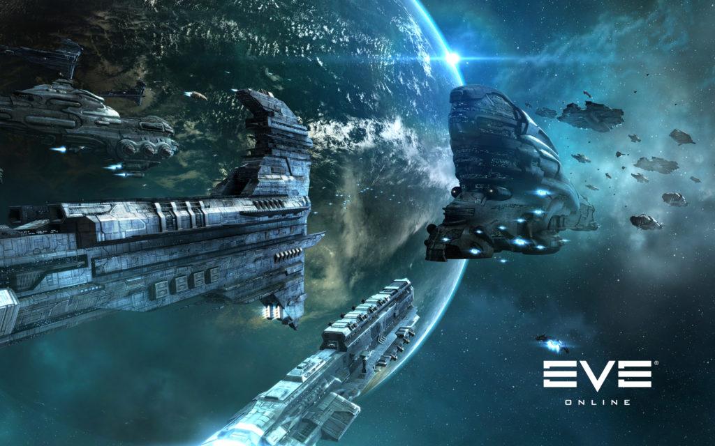 Корабли в космосе Eve online