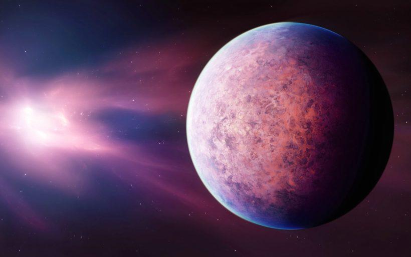 Розовая планета