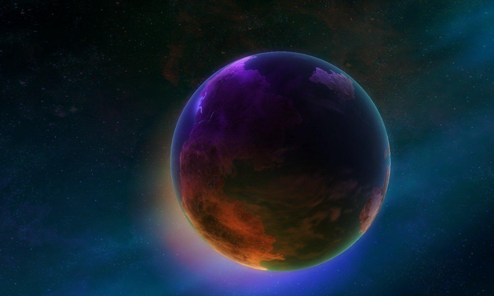 Влажная планета