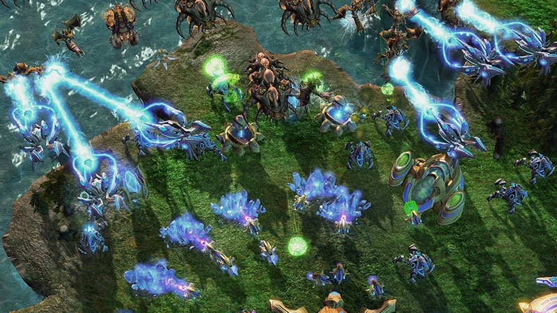 Starcraft legacy of the void Битва