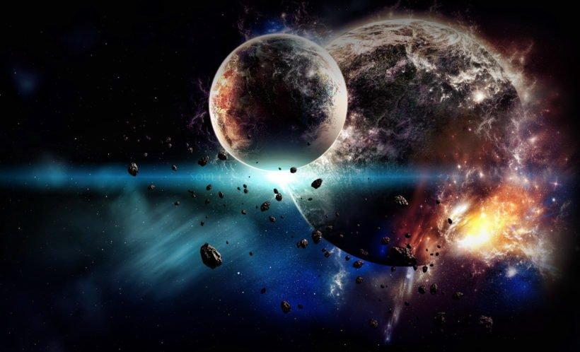 Столкновение в космосе