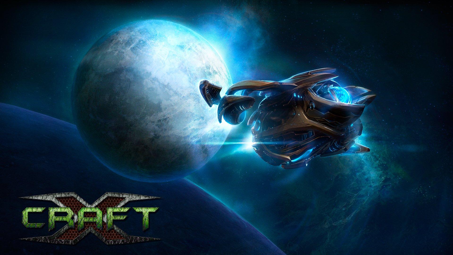 Космическая игра Xcraft