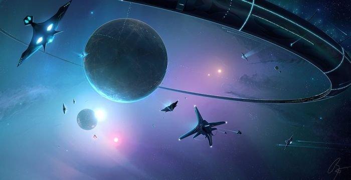 Флот в обороне планеты