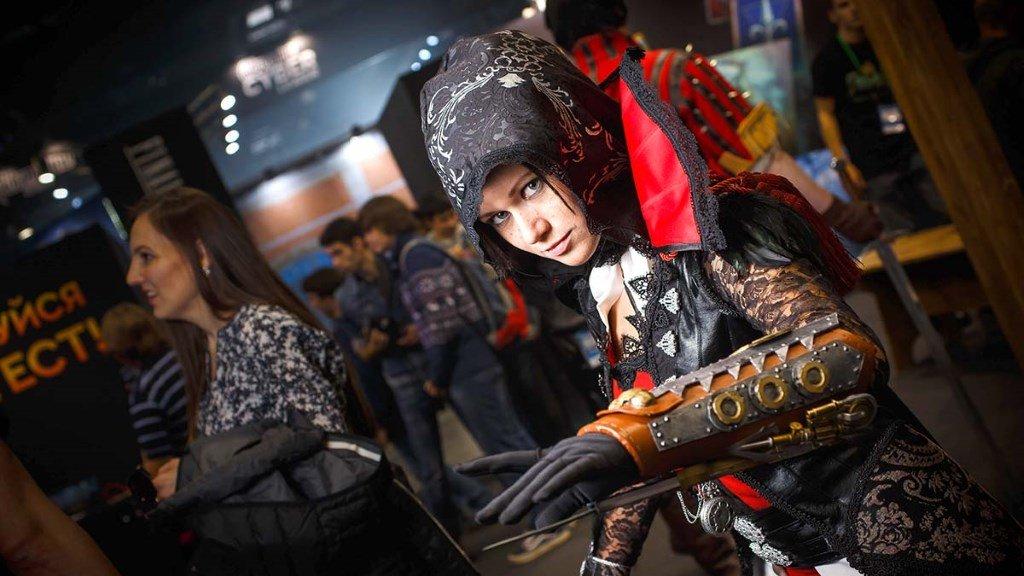 Выставка ИгроМир косплей