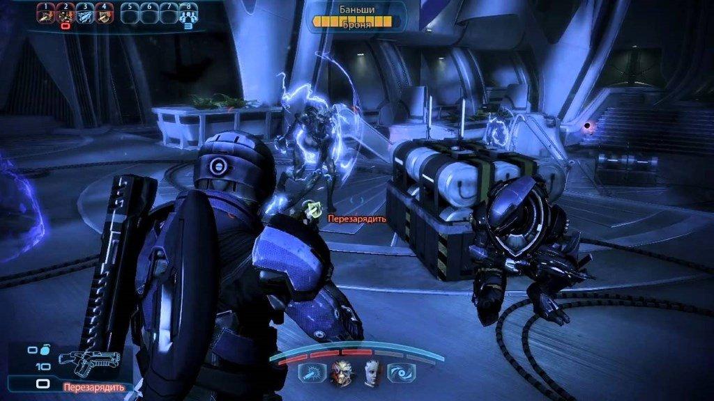 Mass Effect сражение