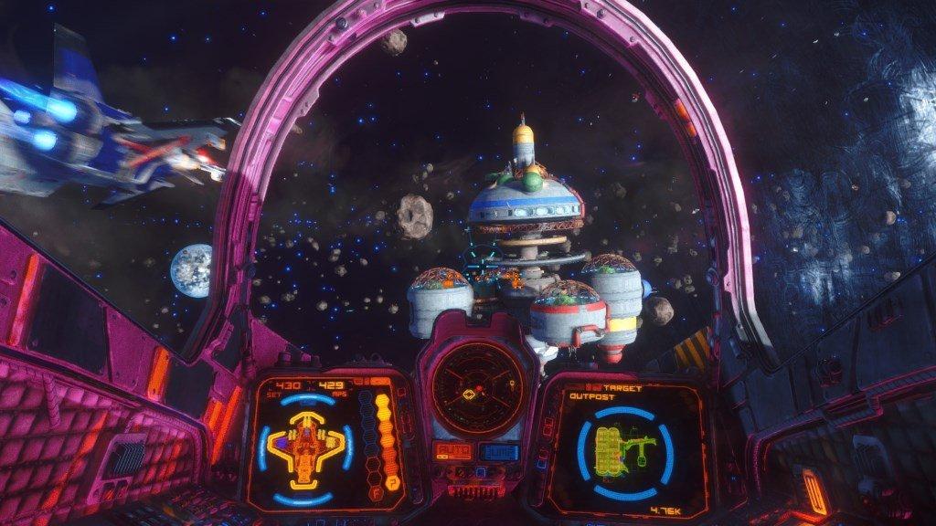 rebel galaxy внутри корабля