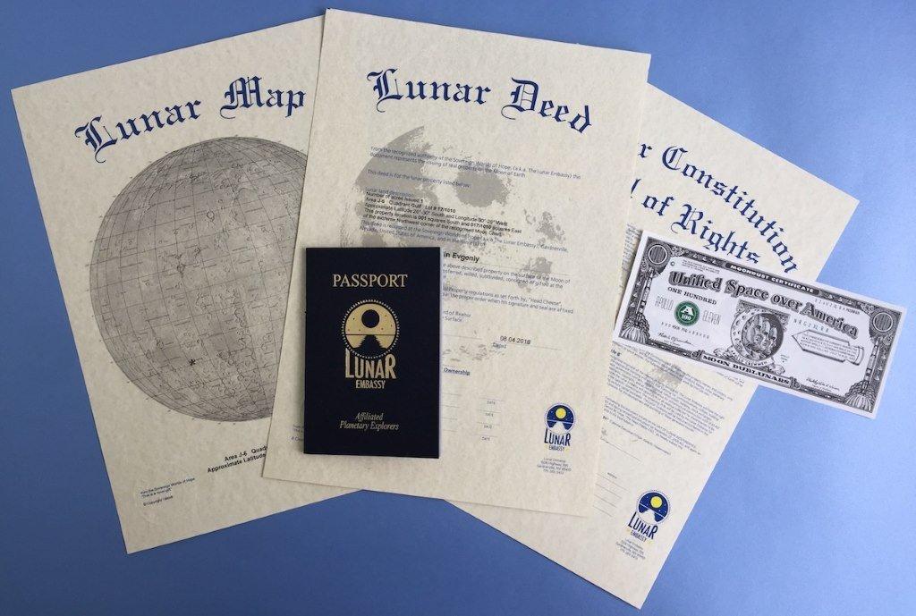 Сертификаты на Луну