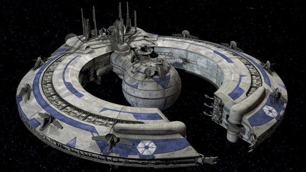 Боевой корабль торговой федерации
