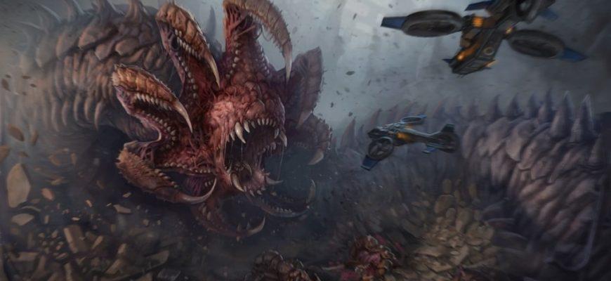 Червь Нидуса в Starcraft 2