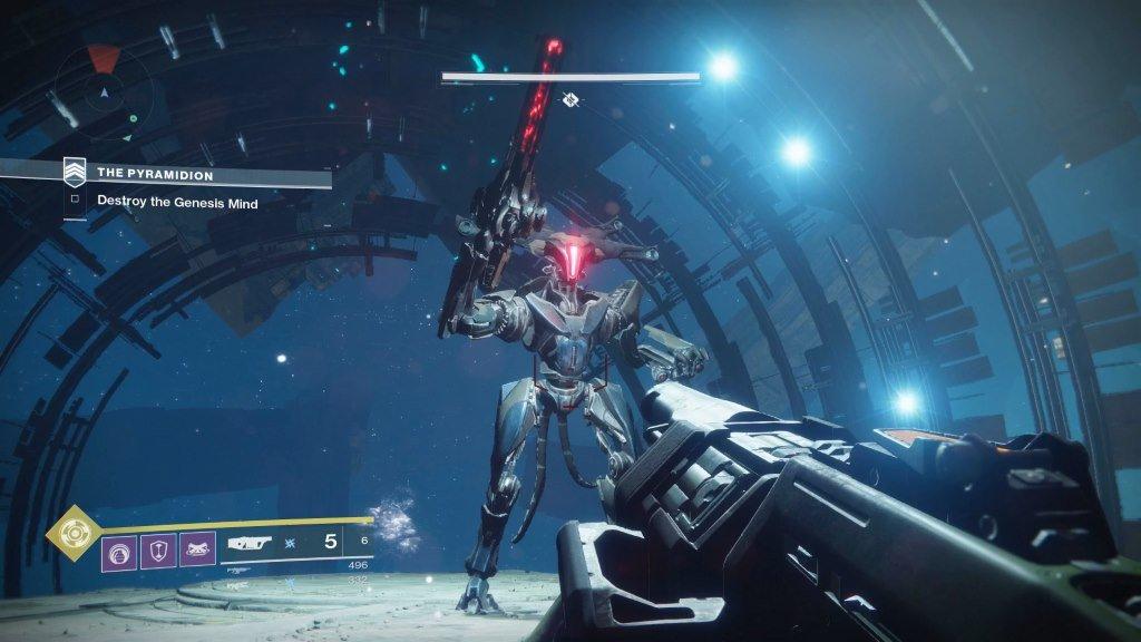destiny 2 скриншот боя