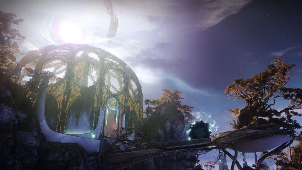 destiny 2 окружение