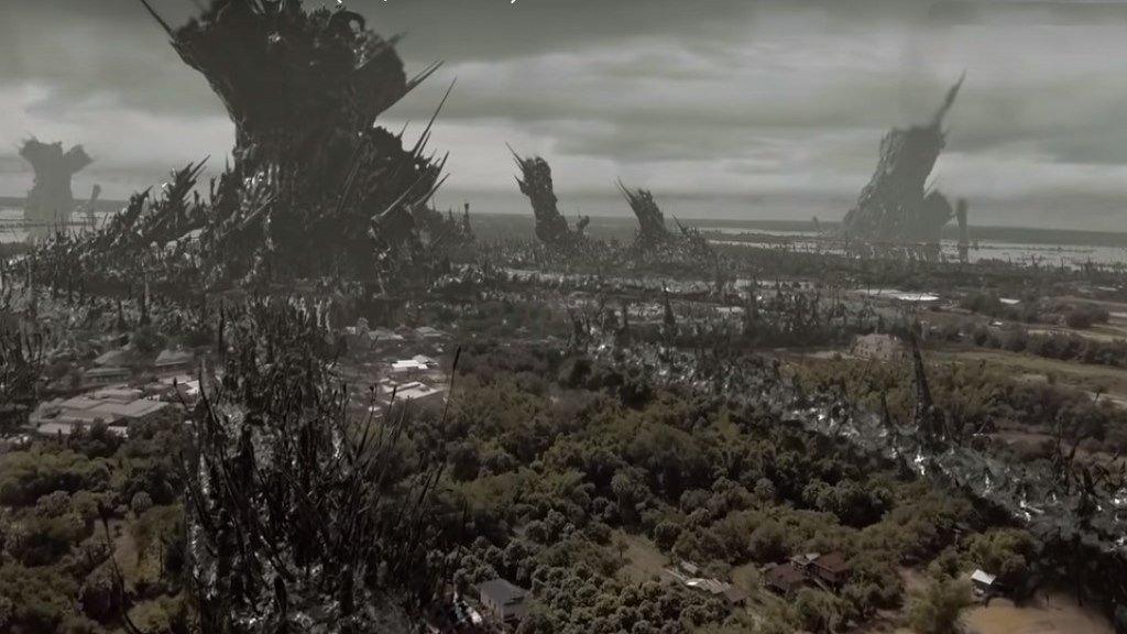Короткометражка про инопланетян