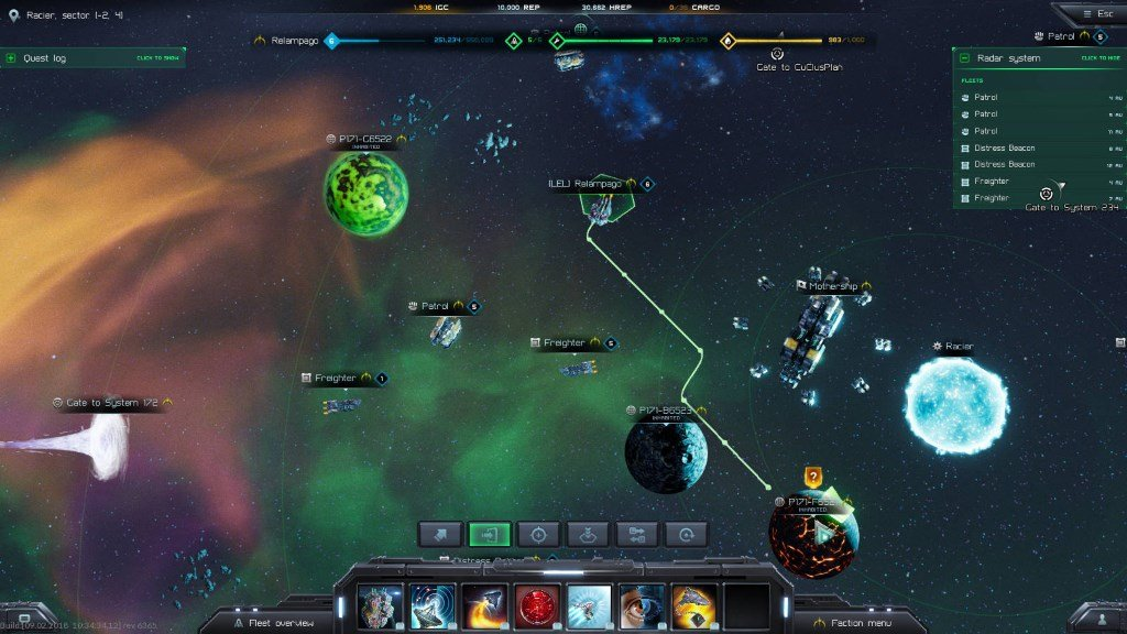 starfall online полет корабля