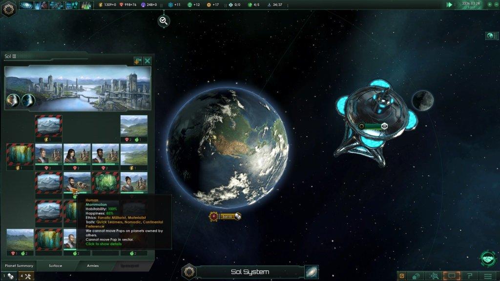 Stellaris планета Земля