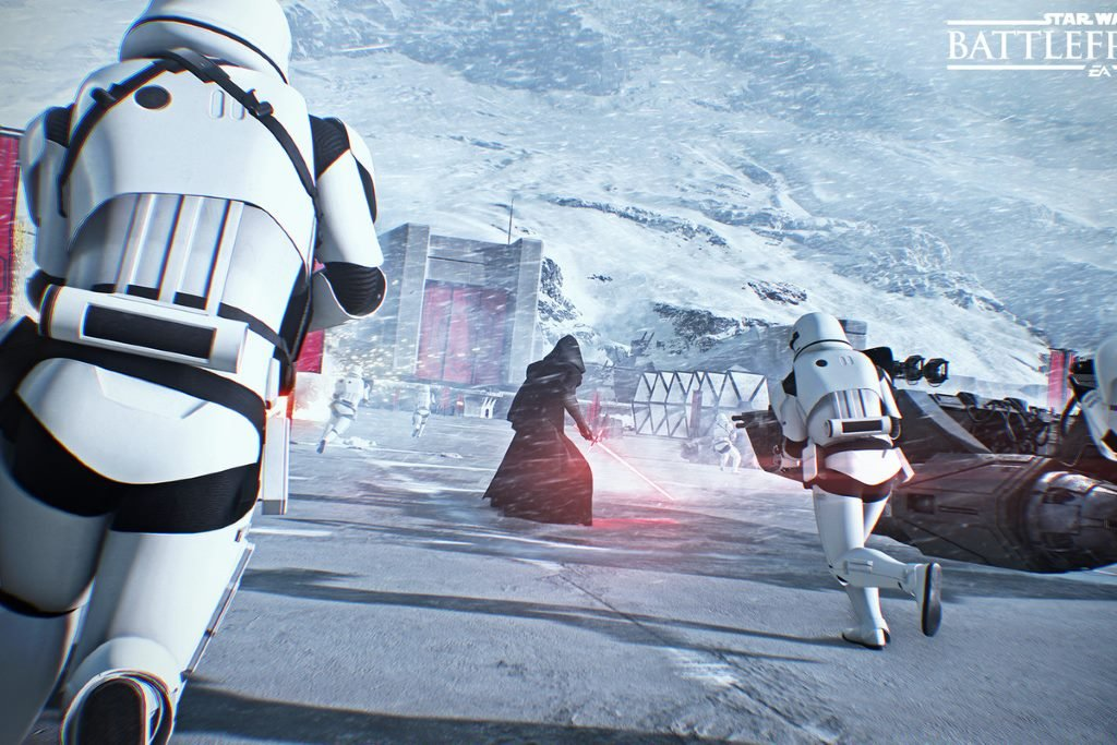 Скриншот Star wars Battlefront 2