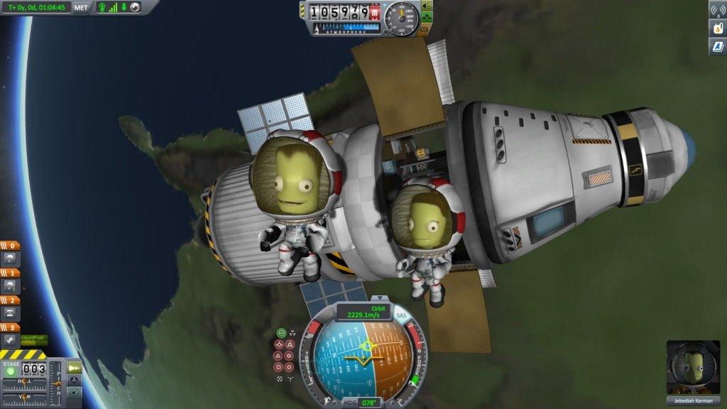 Kerbal Space Program геймплей