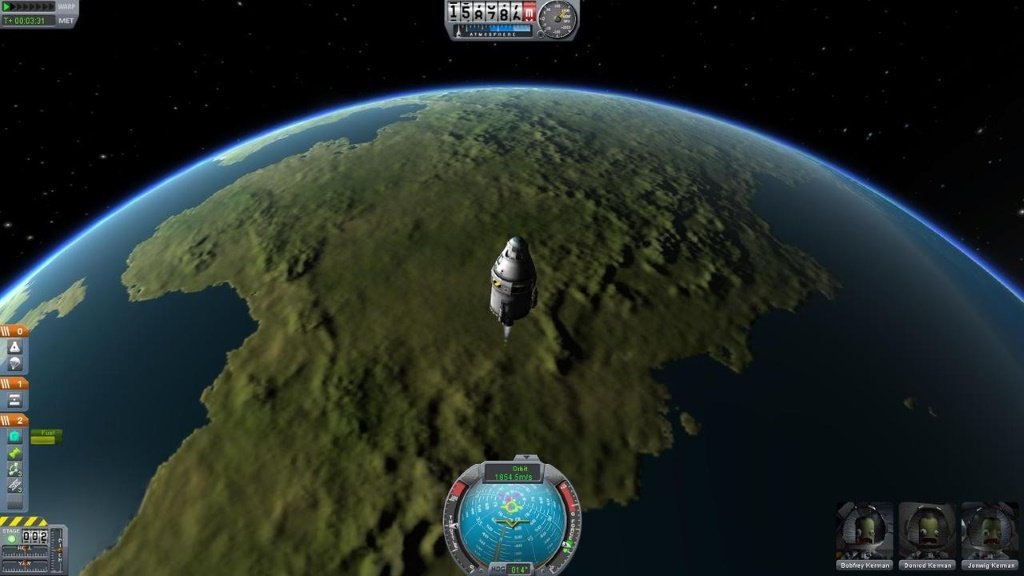 Kerbal Space Program космос