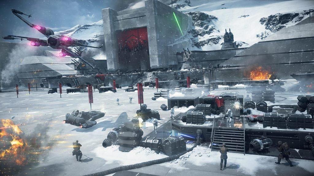 Мультиплеер в игре Star Wars Battlefront 2