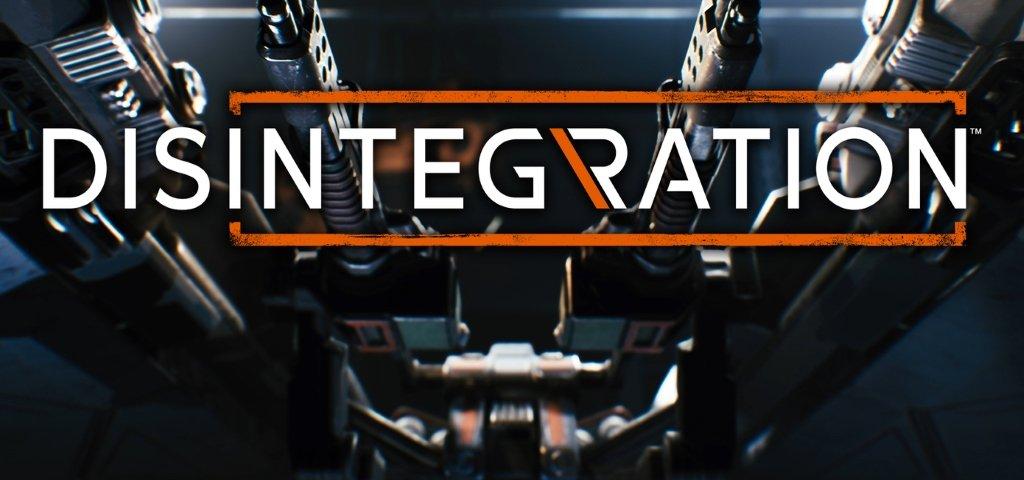 Логотип игры Disintegration