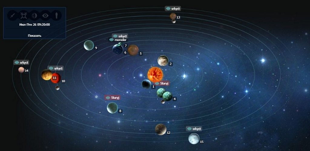 Галактика в SWcraft