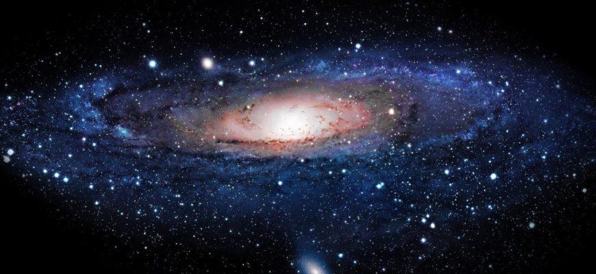 одна из первых галактик