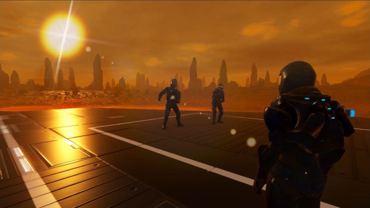 закат в Empyrion galactic survival