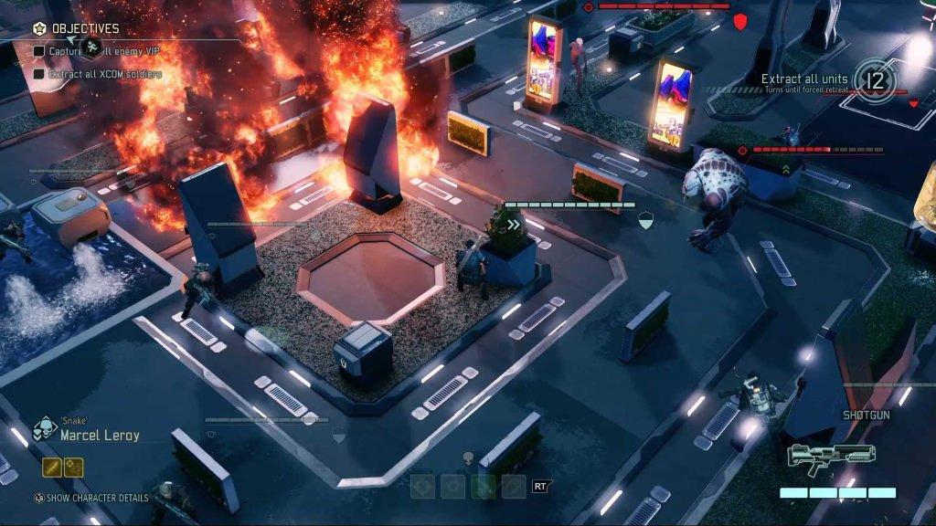 XCOM Сражение на улице