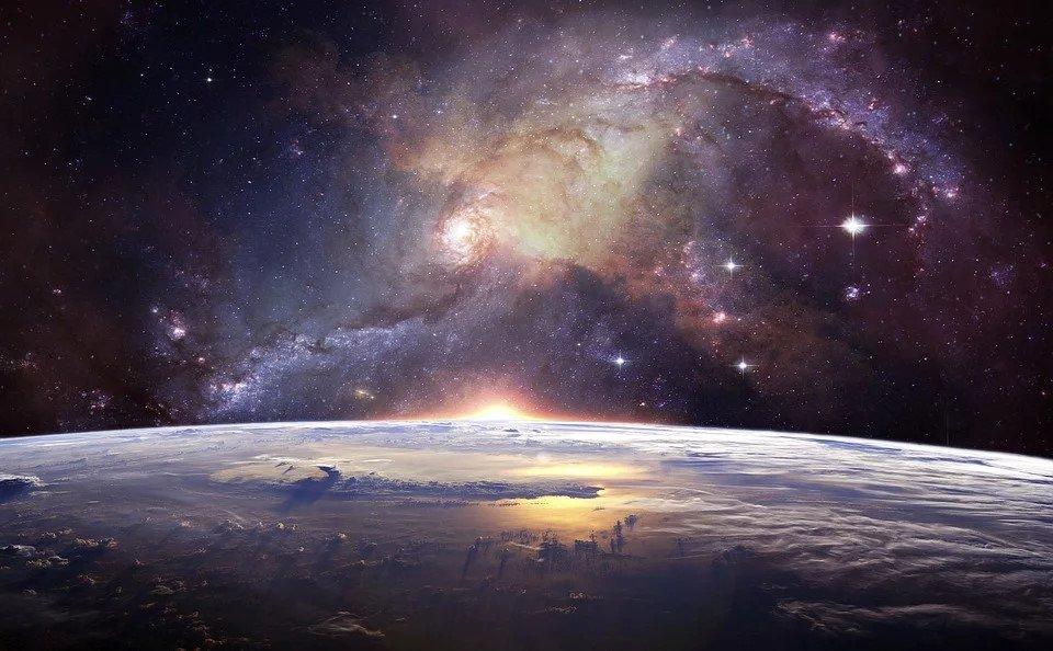 Галактики и звезды в виртуальном планетарии
