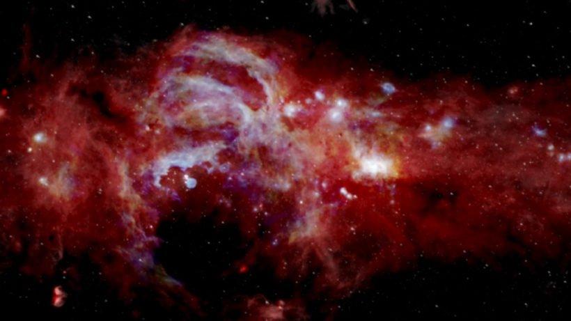 Центр галактики Млечный путь