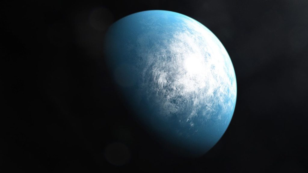 Планета очень похожая на землю