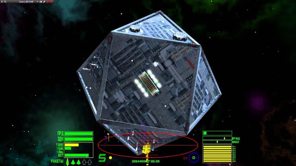 Космическая игра Oolite