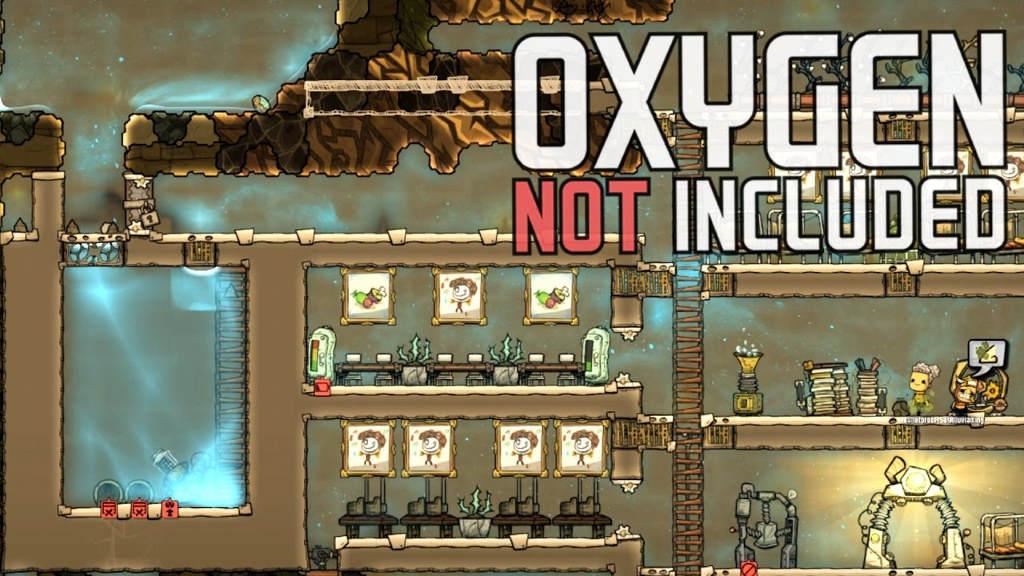 Oxygen not included космическая игра