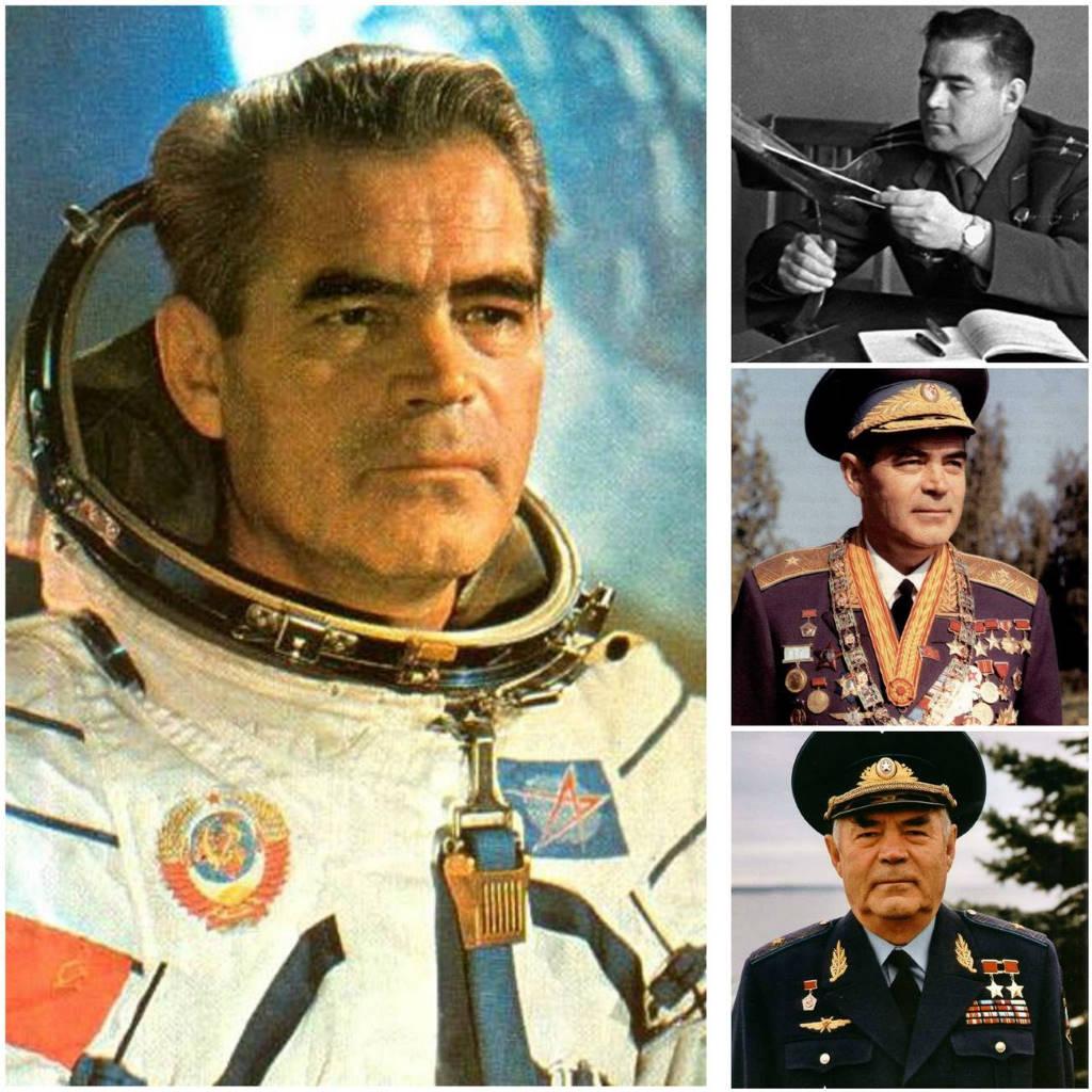 Советский герой-космонавт Николаев
