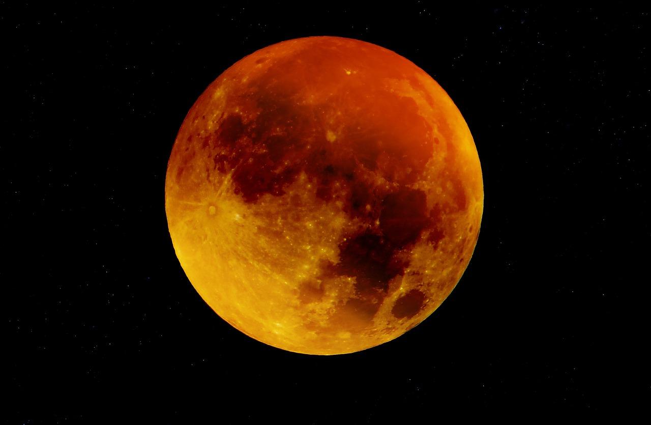 Лунное затмение (Кровавая луна)