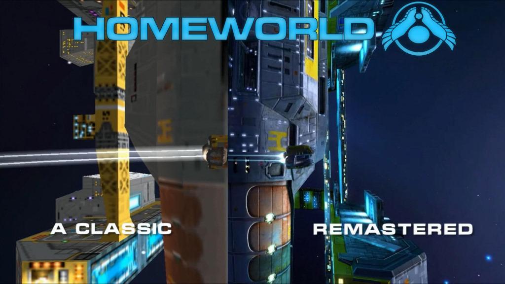 Разные поколения Homeworld