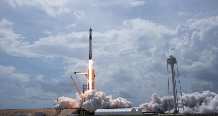 Запуск ракеты к МКС