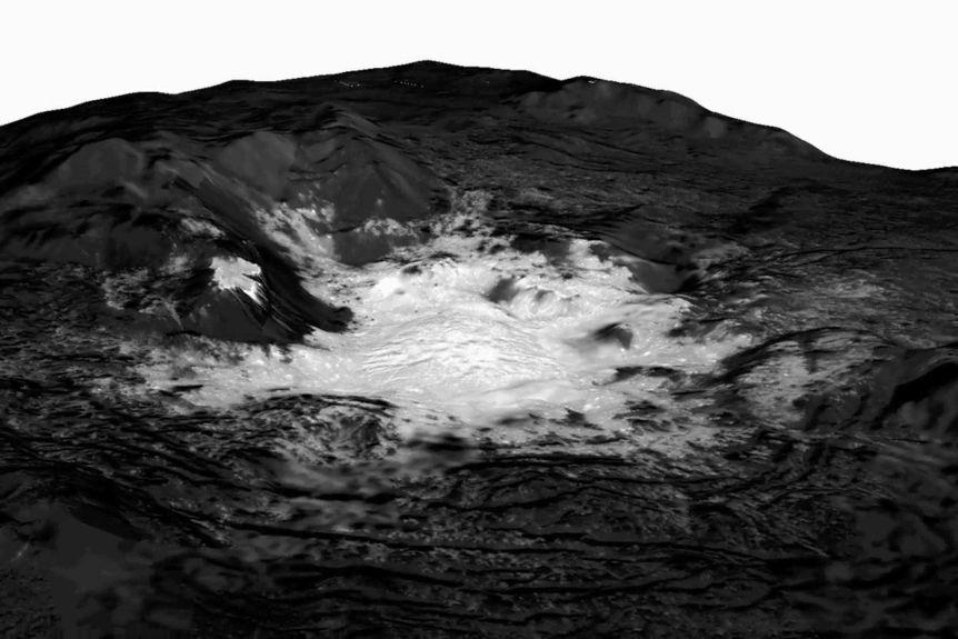 Океан на Церере фото