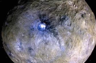 Снимок карликовой планеты Церера