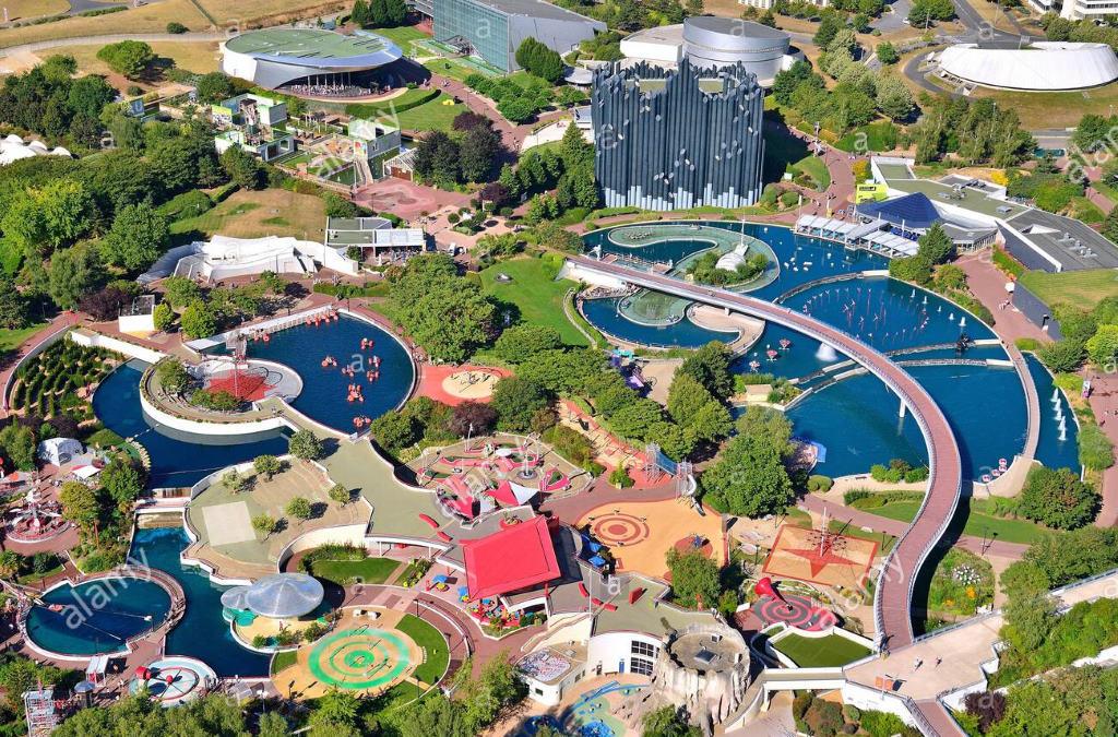 Парк Футуроскоп с высоты